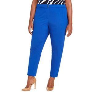 Calvin Klein Women's Plus Dress Pants, Color: Blue